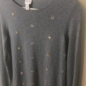 🎁Chico's Zenergy Holiday Sweater NWOT